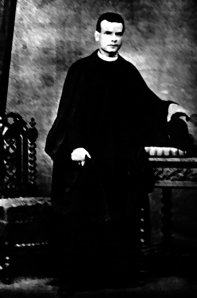 El V. P. Mariano, el día de su ordenación sacerdotal.